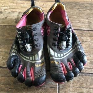 Women's FiveFingers Vibram Running Shoes Pink 39 8